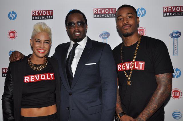 Diddy & Revolt Hosts Sibley & DJ Damage