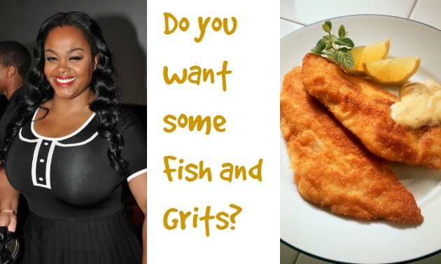 Golden Fried Fish & Grits