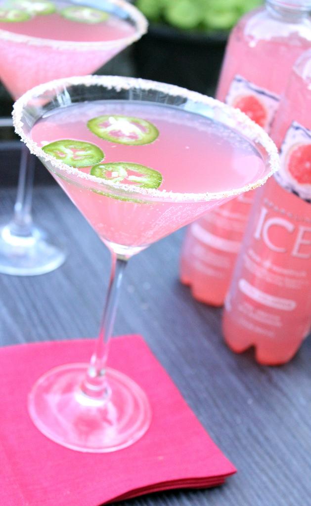 Grapefruit Jalapeno Cocktail