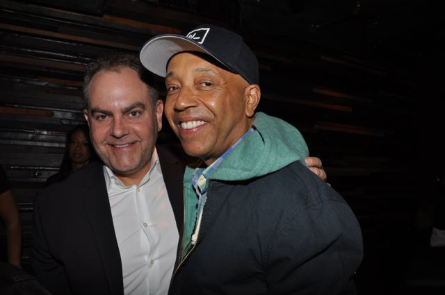 Andy Schuon and Russell Simmons
