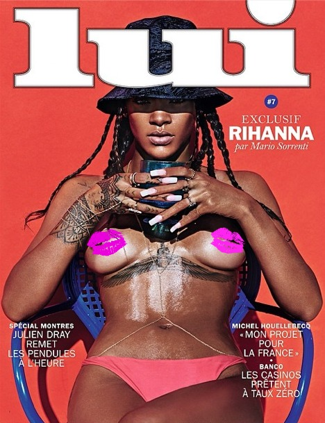 Rihanna's Risque Lui Cover