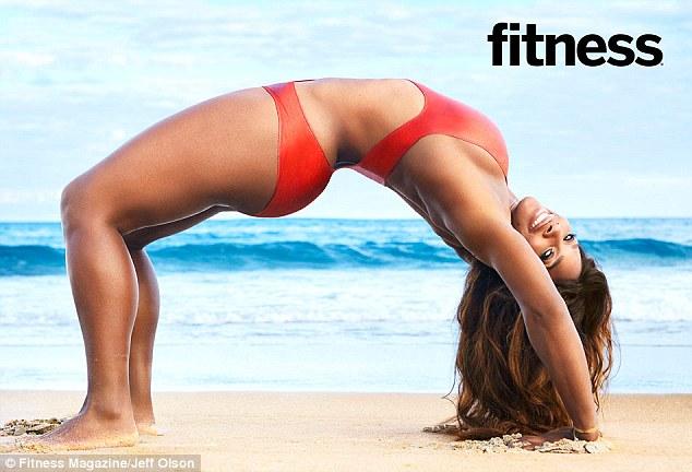 serena williams fitness magazine-1
