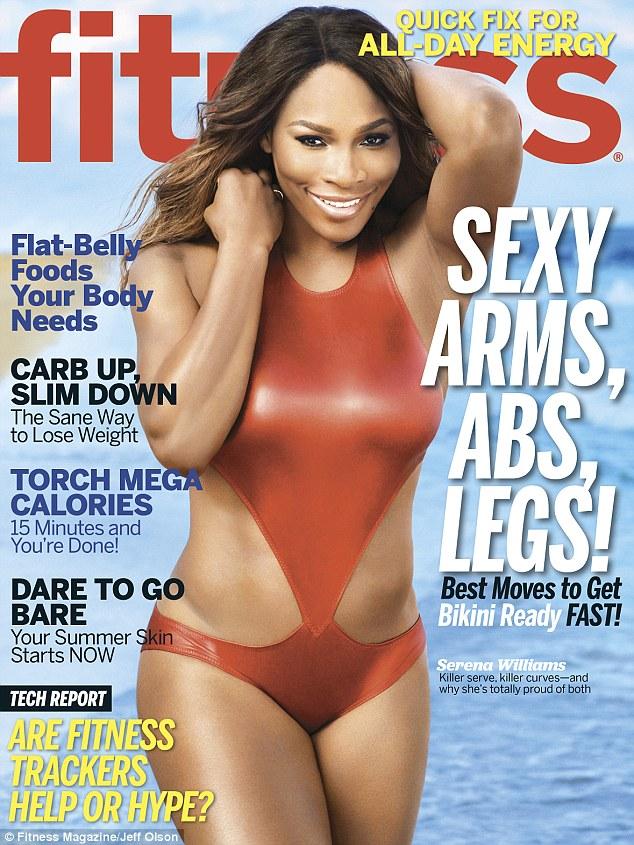 serena williams fitness magazine