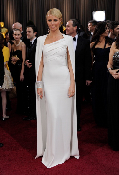 Gwyneth Paltrow in Tom Ford at the Oscars in 2012