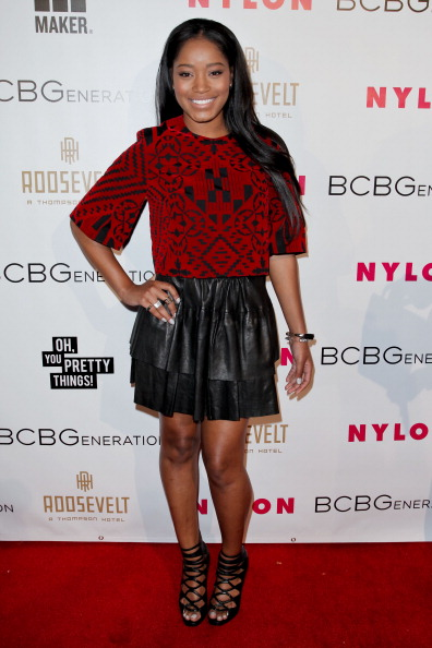 Keke Palmer attends the Nylon Magazine May young Hollywood issue party