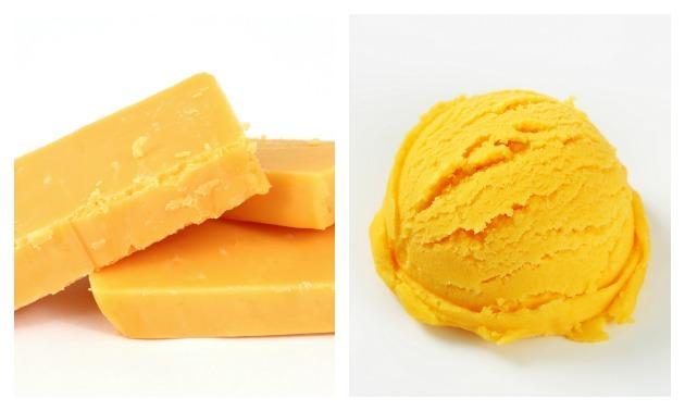Cheddar Cheese Ice Cream