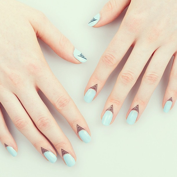 nail cuticle tattoos-1
