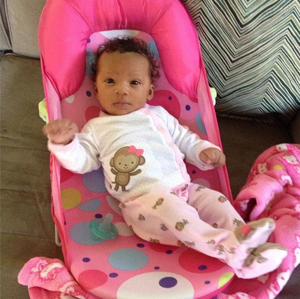 Chilling In Her Chair