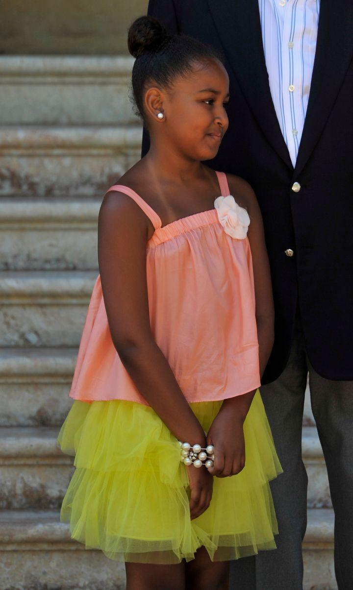 August 2010; FLOTUS Meets Spanish Royals