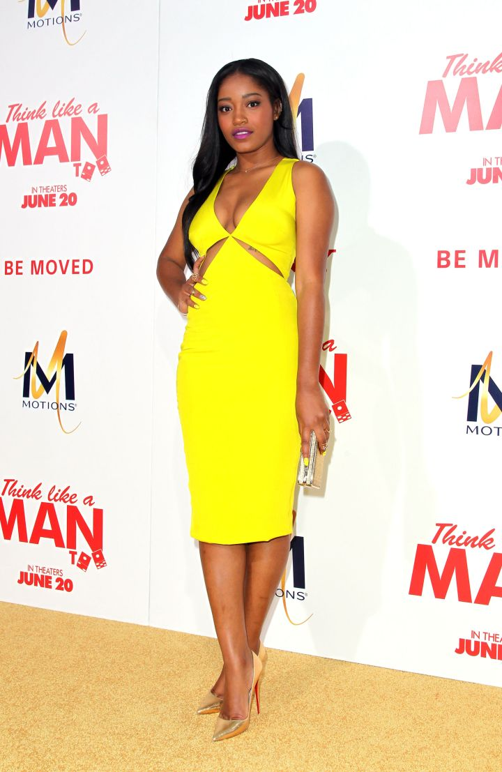 """Keke Palmer attends the Premiere Of Screen Gems' """"Think Like A Man Too"""""""