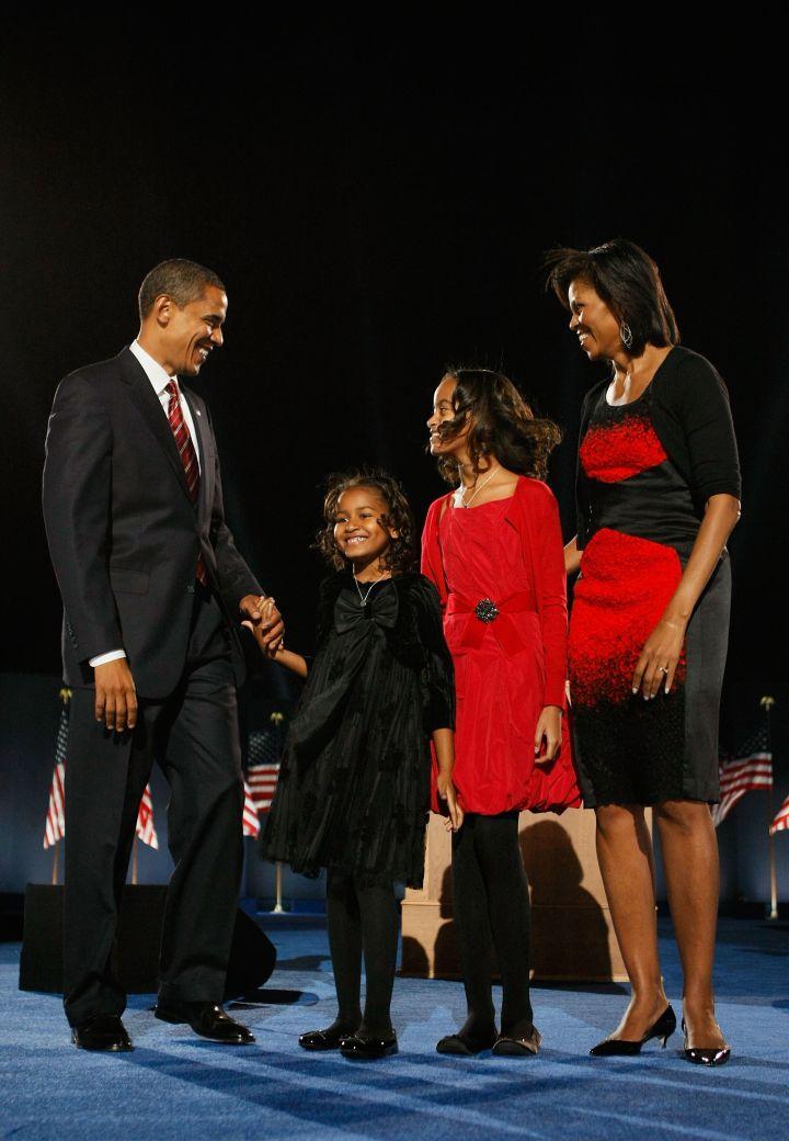 November 2008, Election Night