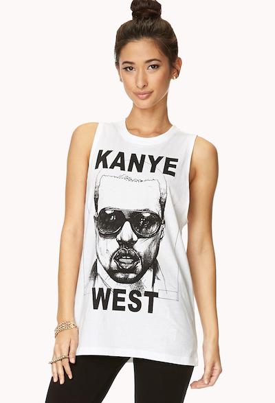 Kanye West Muscle Tee
