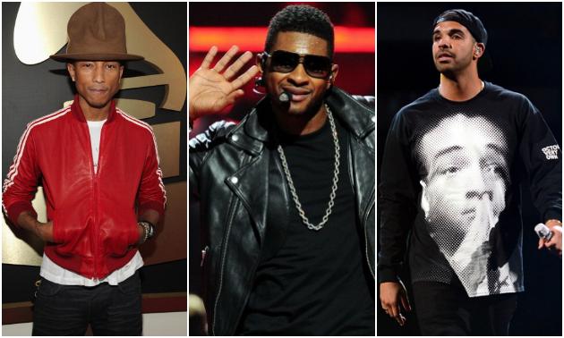 Pharrell Usher Drake