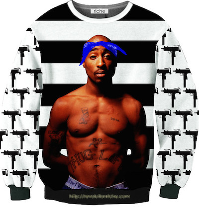 Tupac Crewneck