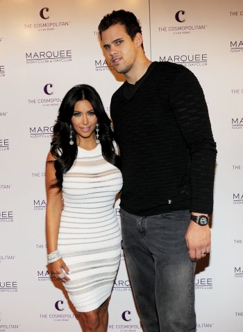Kim Kardashian Celebrates Her Birthday At Marquee Nightclub