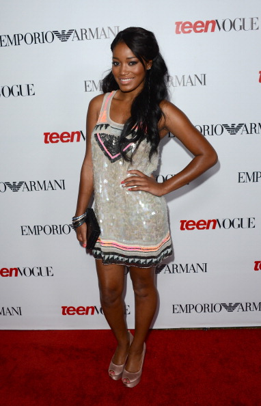 Keke Palmer arrives at Teen Vogue's 10th Anniversary young Hollywood party