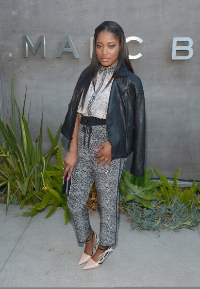 Keke Palmer attends the Marc By Marc Jacobs Fall/Winter 2014 Preview