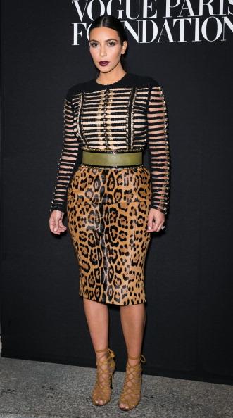 Kim Kardashian Vogue Foundation Gala Arrivals - Paris Fashion Week : Haute-Couture Fall/Winter 2014-2015