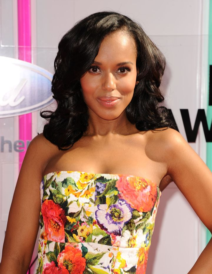 Kerry Washington: Outstanding Guest Actor In A Drama Series