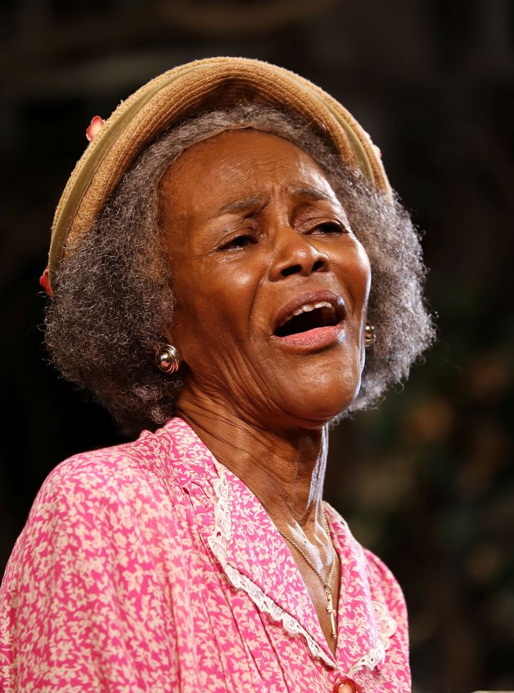 Cicely Tyson: Outstanding Lead Actress In A Miniseries Or A Movie