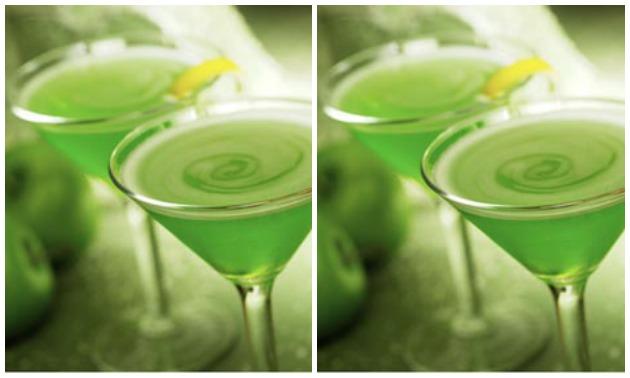 The Teeny Apple Martini