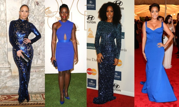 celebrities-in-blue-kelly-rowland-jennifer-lopez-lupita-nyongo-lala