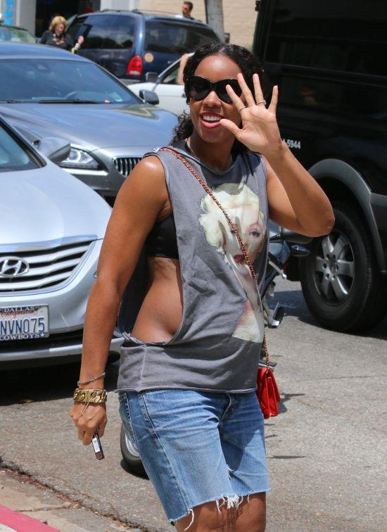 Celebrity Sightings In Los Angeles - July 25, 2014