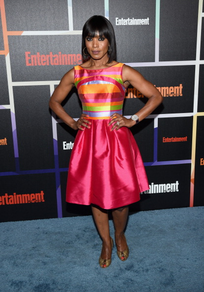 Angela Bassett attends Entertainment Weekly's annual Comic-Con celebration