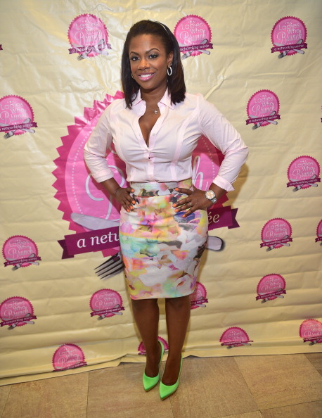 Kandi Burruss at the Ladies Who Brunch Atlanta Royal Tea Affair