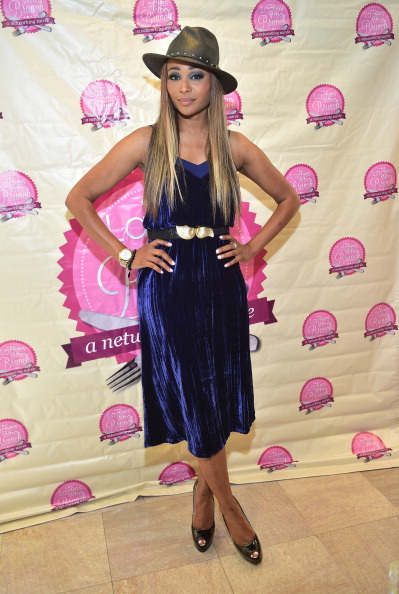 Cynthia Bailey at the Ladies Who Brunch Atlanta Royal Tea Affair