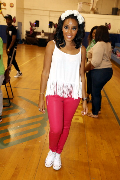 Angela Simmons hosts the Girl Talk #Takeover event at Boys & Girls Club Of Jersey City