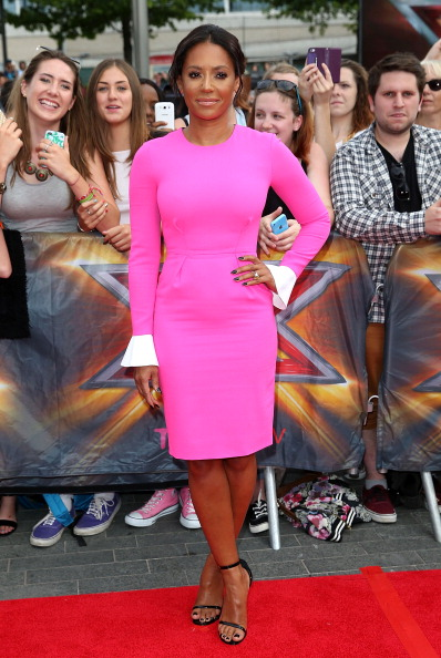 "Mel B arrives for ""The X Factor"" London Arena auditions"