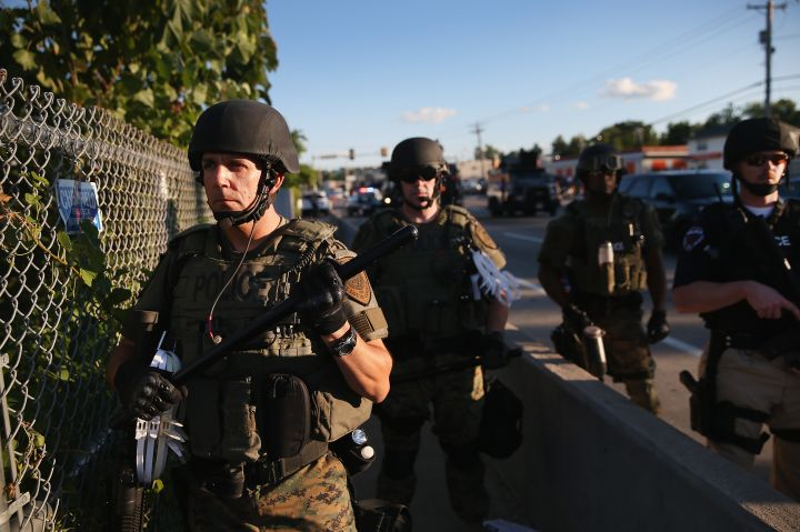 Similar Imagery: Ferguson Or Iraq?