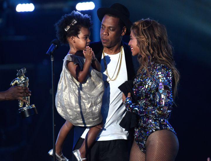 Beyonce, Blue Ivy, Jay Z