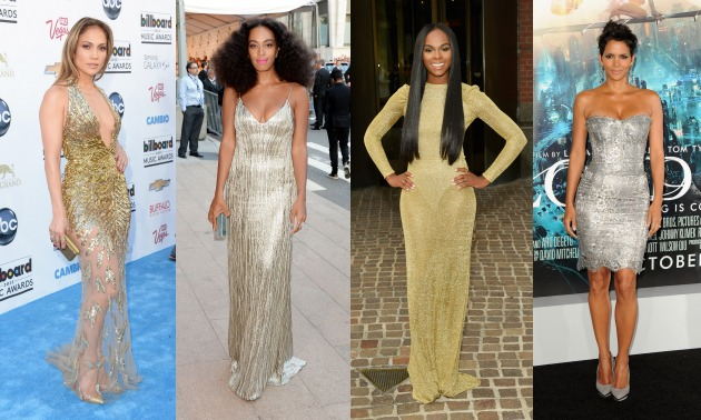 celebrities-in-gold-silver-jennifer-lopez-solange-tika-sumpter-halle-berry-hello-beautiful