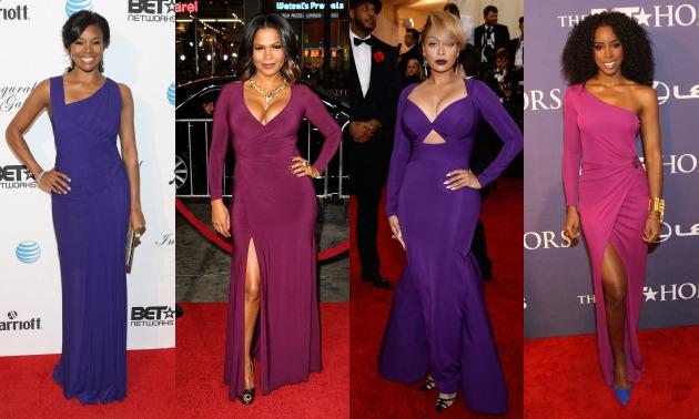 celebrities-in-purple-gabrielle-union-nia-long-lala-kelly-rowland-hello-beautiful