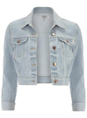 Bleach Wash Denim Jacket