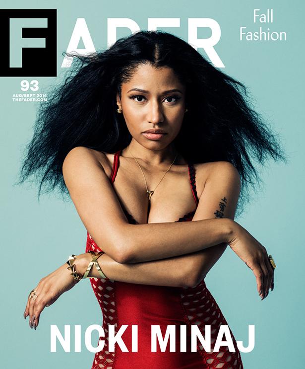 Nicki Minaj Covers Fader Magazine