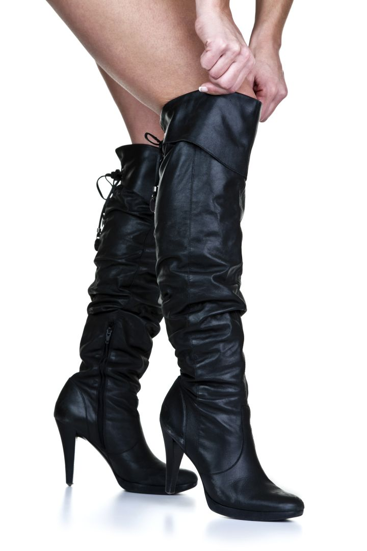 Sexy Knee-High Boots