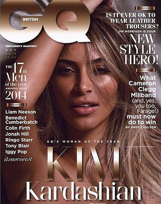 Kim Covers British GQ