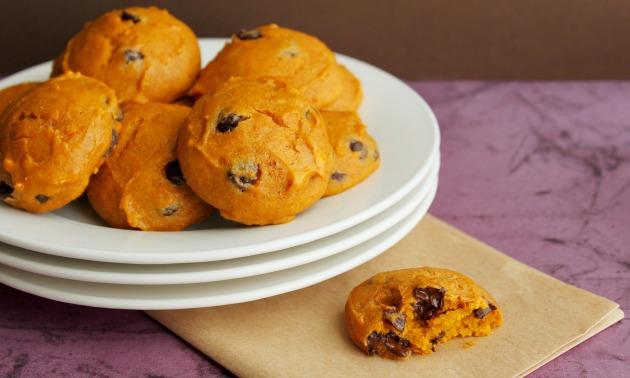 pumpkin-choc-cookies