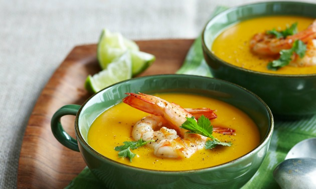 Pumpkin & Shrimp Bisque