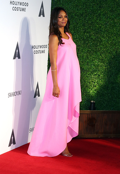 Zoe Saldana The Academy Of Motion Picture Arts And Sciences' Hollywood Costume Opening Party - Arrivals