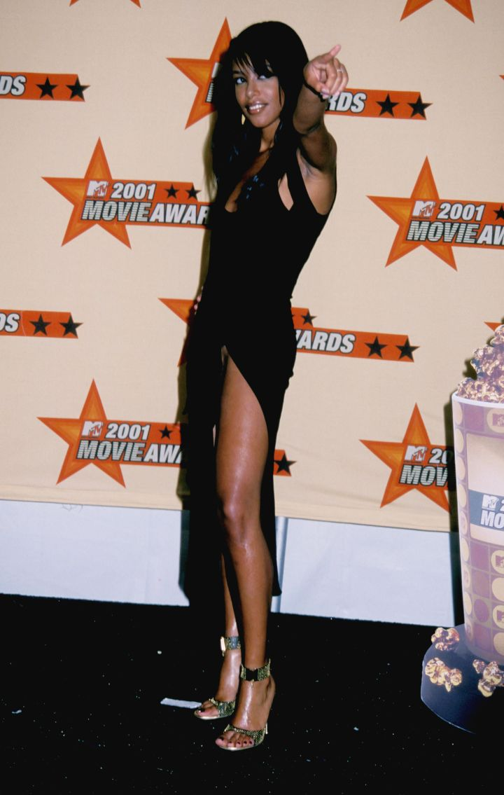 Aaliyah Embraces Her Sexiness
