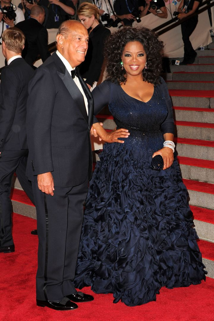 Oprah Winfrey & Oscar de la Renta