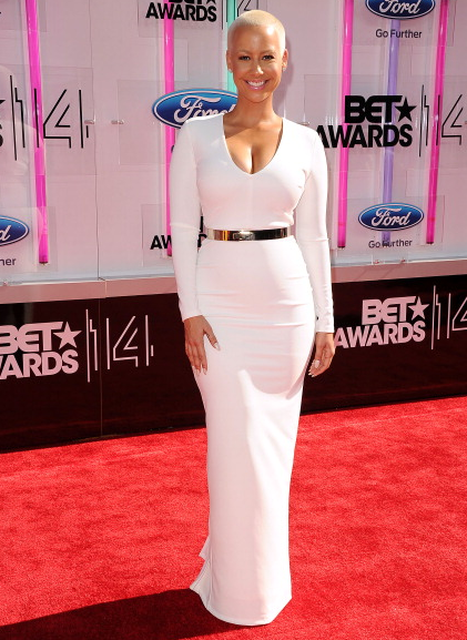 "Best ""All-White"" Look: Amber Rose"