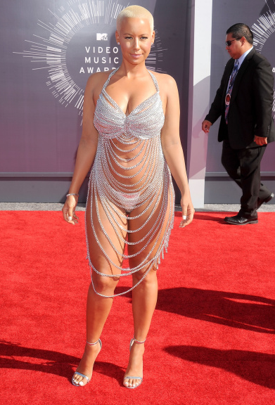 "Best ""Chain Dress"": Amber Rose"