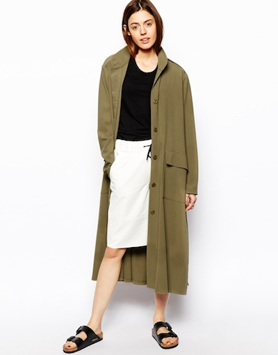 Olive Duster