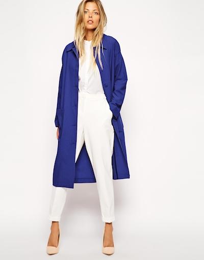 Blue Duster Coat