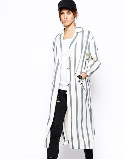 Striped Duster